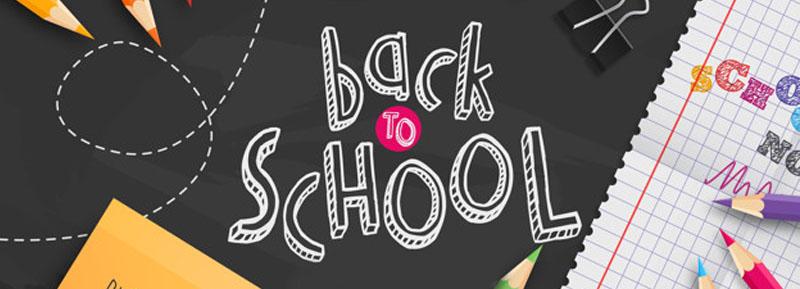 Back to School折扣